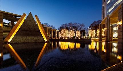 2019年去東京睇燈飾熱點西新宿illumination museum 2019Love的水池景