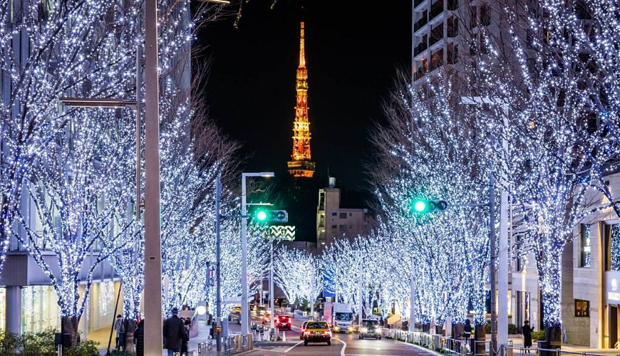 2019年去東京睇燈飾熱點六本木之丘六本木HILLS聖誕嘉年華