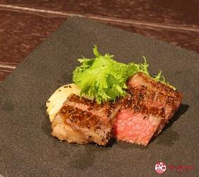 東京夜景景點推薦台場aquacity夜景餐廳響料理黑毛和牛赤身肉牛排