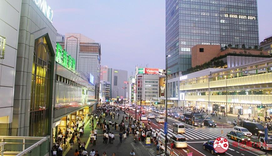 日本東京新宿車站JR出口怎麼走指引說明不迷路東口中央東口西口中央西口南口東南口新南口甲州街道口ミライナタワー口轉車轉乘