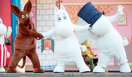 埼玉嚕嚕米主題公園MoominValleyPark嚕嚕米之谷MUUMILAAKSO表演秀