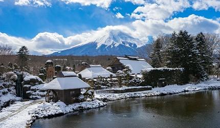 日本人私房推荐!不用人挤人也能眺望富士山的最佳景点忍野八海