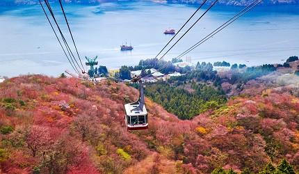 日本箱根空中缆车