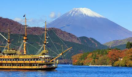 日本人私房推荐!不用人挤人也能眺望富士山的最佳景点,箱根的海贼观光船