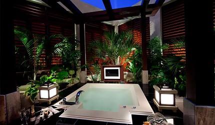 日本酒店評論家瀧澤信秋挑選的東京精品酒店排名 TOP 6 的「HOTEL COCO GRAND 上野不忍」的浴室照片