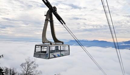 長野縣龍王滑雪公園空中纜車