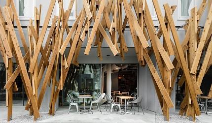 日本酒店評論家瀧澤信秋挑選的東京精品酒店排名 TOP 6 的「ONE@Tokyo」外觀