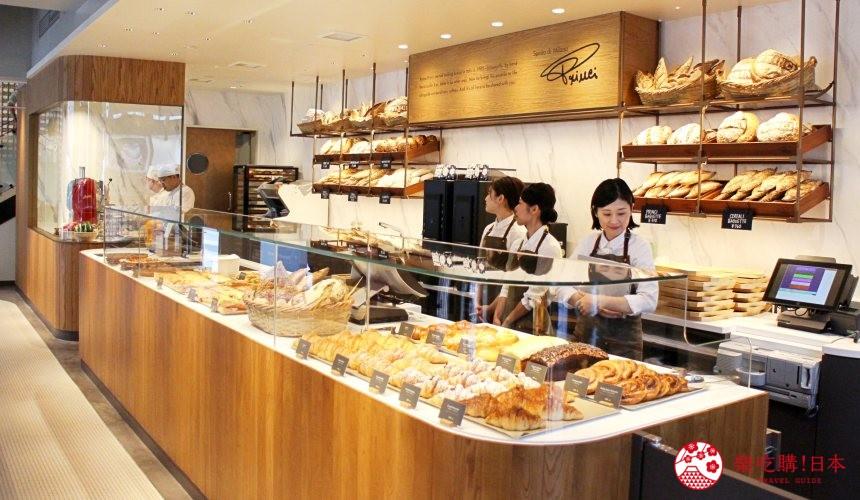 東京銀座星巴克臻選概念店一樓的義式麵包坊「Princi」