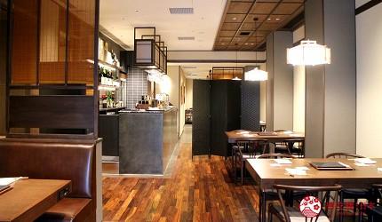 東京和牛黑毛和牛推薦米澤牛黃木銀座店的店內用餐空間