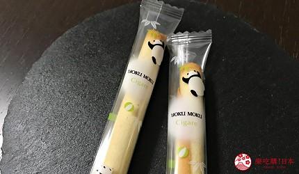 日本東京必買送禮用的手信中推介的YOKU MOKU原味雪茄蛋捲的可愛的限定熊貓包裝2支