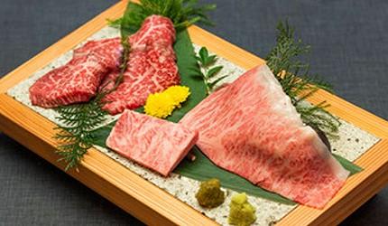 东京六本木A5神户牛涮涮锅推荐「神户牛涮涮锅 肉邸 金山」的「神户牛与山形牛比较套餐」