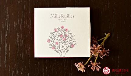 日本東京必買送禮用的手信中推介的Berne millefeuille朱古力千層派的外包裝盒