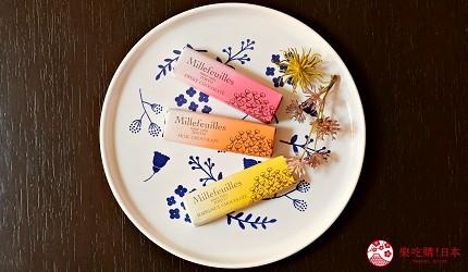 日本東京必買送禮用的手信中推介的Berne millefeuille朱古力千層派的3款口味