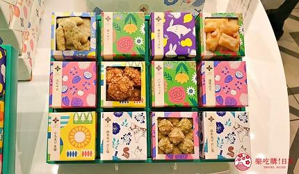 日本東京必買送禮用的手信中推介的麻布十番あげもちや「炸米果」的包裝精美可愛