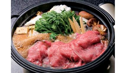 日本和牛吃到饱东京人气烧肉名店「六歌仙」的寿喜烧