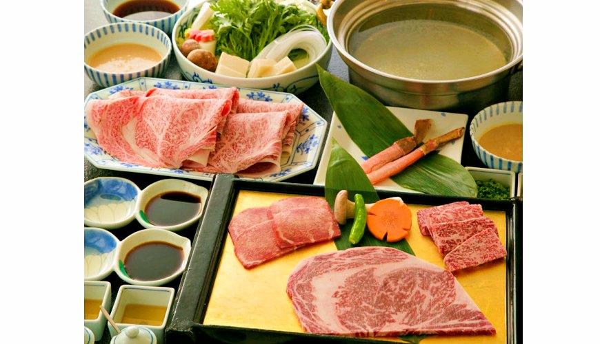 日本和牛吃到饱东京人气烧肉名店「六歌仙」的套餐「若紫之宴」