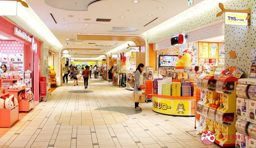 东京晚上夜间景点推荐东京车站美食购物东京CharacterStreet