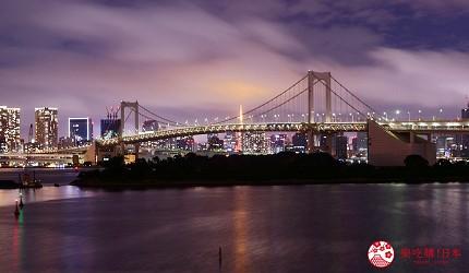 日本東京帶仔女自由行4日3夜交通行程懶人包推薦的親子遊推介台場的超靚的台場夜景