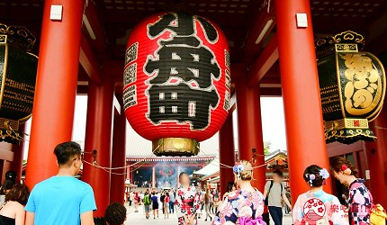 日本東京帶仔女自由行4日3夜交通行程懶人包推薦的親子遊推介雷門寺