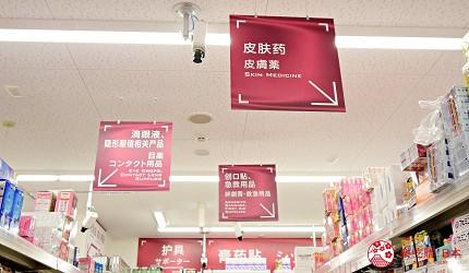 东京新宿药妆优惠券推荐COSMOS科摩思歌舞伎町一丁目店店内中英文标示