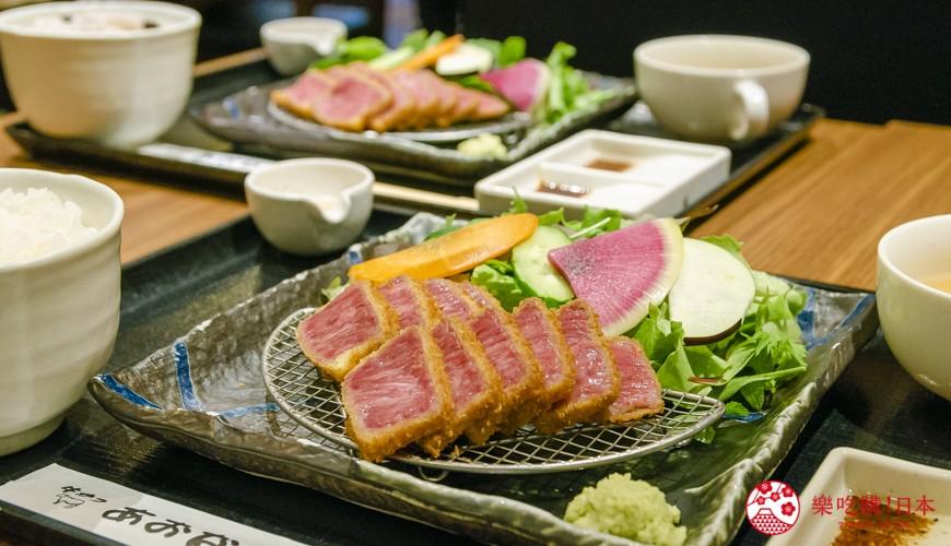 新宿必吃炸牛排专门店「牛かつあおな」! 霜降和牛炸牛排,外酥内软超推荐