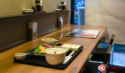 新宿必吃炸牛排专门店推荐「牛かつあおな」的套餐