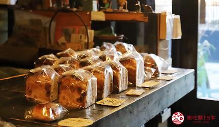 用萬歲PASS 2日乘車券可以去到的柳町內的麵包店Levain的人氣天然酵母麵包