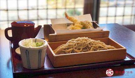 用萬歲PASS 2日乘車券可以去到的長野善光寺有的蕎麥麵燒