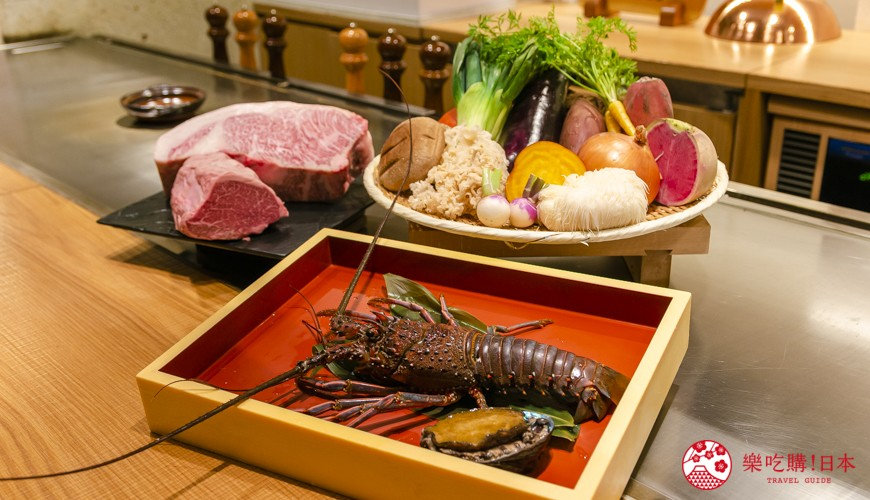 東京銀座和牛鐵板燒「しろや銀座亭」:吃得到松阪牛、魚翅、鮑魚的豪華頂級饗宴!