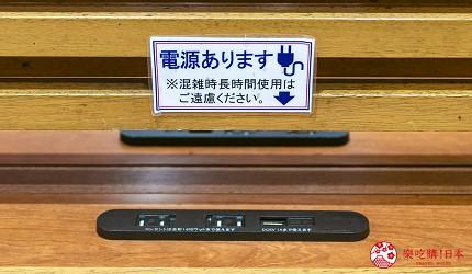 東京購物商場Ario北砂服務設施免費充電寄物櫃寄放行李