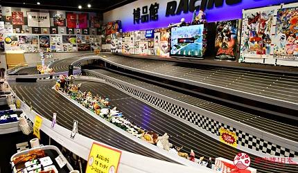 日本自由行shopping购物吃饭食饭玩乐设施都有的羽田机场的休息空间the hanadahouse的新奇体验与可爱杂货的TOKYO POP TOWN 内玩具店博品馆内的遥控玩具赛车赛道