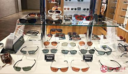 日本自由行shopping购物吃饭食饭玩乐设施都有的羽田机场的休息空间the hanadahouse的购物推荐推介的时尚眼镜专门店IZONE NEW YORK展示的眼镜