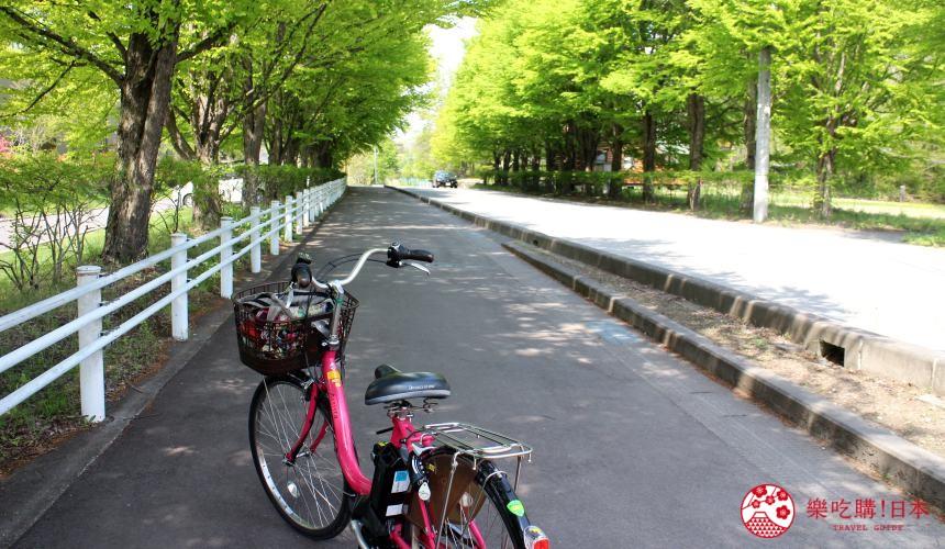 輕井澤一日遊交通移動推薦騎腳踏車