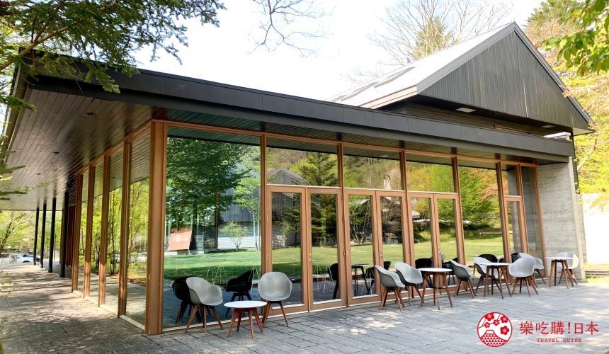 輕井澤一日遊推薦午餐用餐地點「村民食堂」