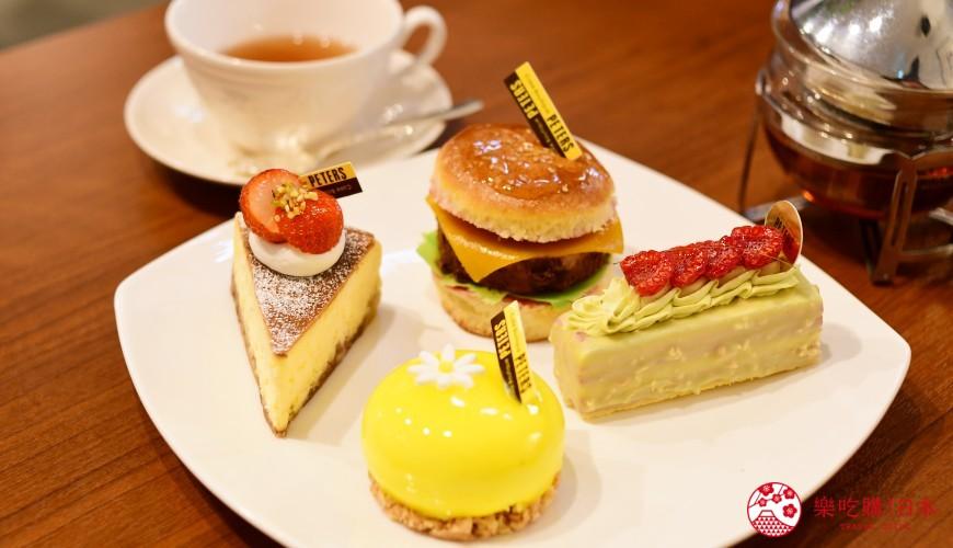 日本輕井澤長野附近療癒慢活女子旅推薦推介的佐久可以吃到的文青餐廳Cake Boutique PETERSケーキブティックピータース的蛋糕