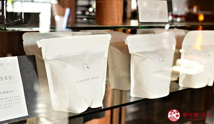 日本輕井澤長野附近療癒慢活女子旅推薦推介的佐久可以吃到的文青餐廳YUSHI CAFE天保堂咖啡的袋裝咖啡豆