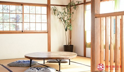 日本輕井澤長野附近療癒慢活女子旅推薦推介的佐久可以吃到的文青餐廳Maru Cafe的和室