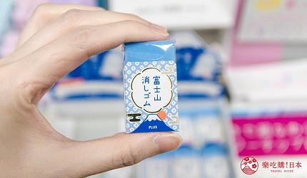 「シモジマ 下岛包装广场 浅草桥本店」贩售的富士山橡皮抆