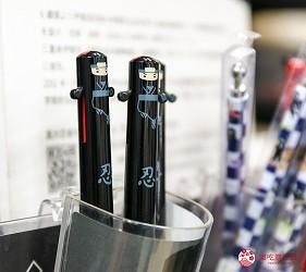 「シモジマ 下岛包装广场 浅草桥本店」贩售的忍者原子笔