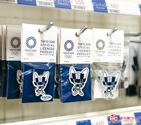 「シモジマ 下岛包装广场 浅草桥本店」贩售的东京奥运吉祥物「未来永远郎」