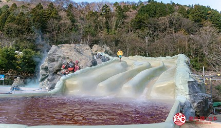 日本親子景點推薦推介箱根穿泳衣也能泡的合家歡溫泉水上樂園箱根小涌園 Yunessun的大型滑水道 Rodeo Mountain