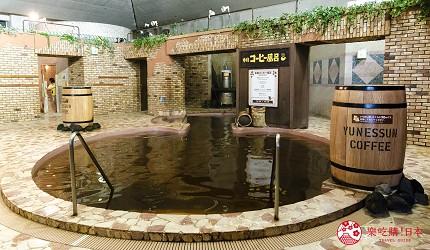 日本親子景點推薦推介箱根穿泳衣也能泡的合家歡溫泉水上樂園箱根小涌園 Yunessun的咖啡溫泉