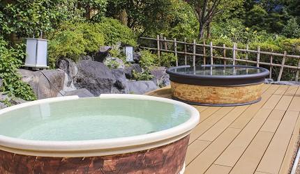 日本親子景點推薦推介箱根穿泳衣也能泡的合家歡溫泉水上樂園箱根小涌園 Yunessun的陶器溫泉