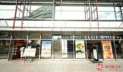 东京赏樱亲子游必到上野L'UENO吃日本最有名的速食LOTTERIA外观