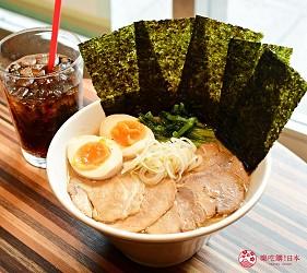 东京赏樱亲子游必到上野L'UENO吃日本最有名的速食LOTTERIA的元祖八景面 Special豚骨酱油