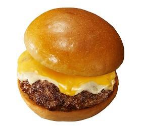 东京赏樱亲子游必到上野L'UENO吃日本最有名的速食LOTTERIA的绝品起司汉堡