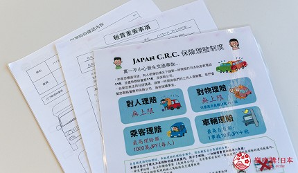 日本自由行自助自駕露營車租車JapanC.R.C中文對應
