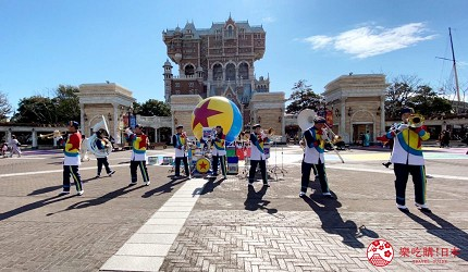 東京迪士尼度假區娛樂設施無人潮空曠景色之三