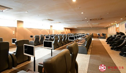 東京溫泉推介推薦台場大江戶溫泉物語躺椅室