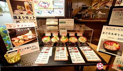 東京溫泉推介推薦台場大江戶溫泉物語壽司跟海鮮蓋飯